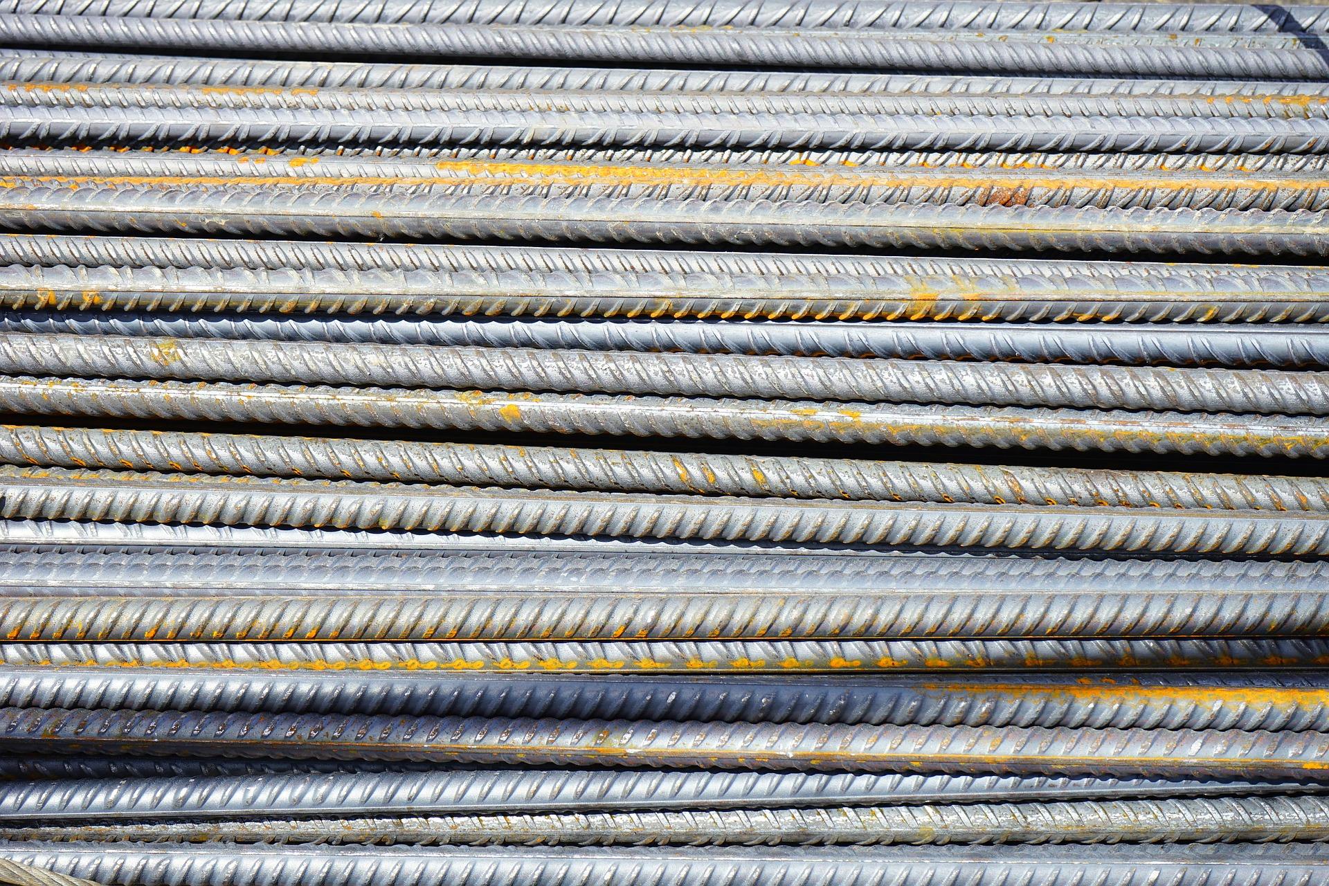 iron rods rebar