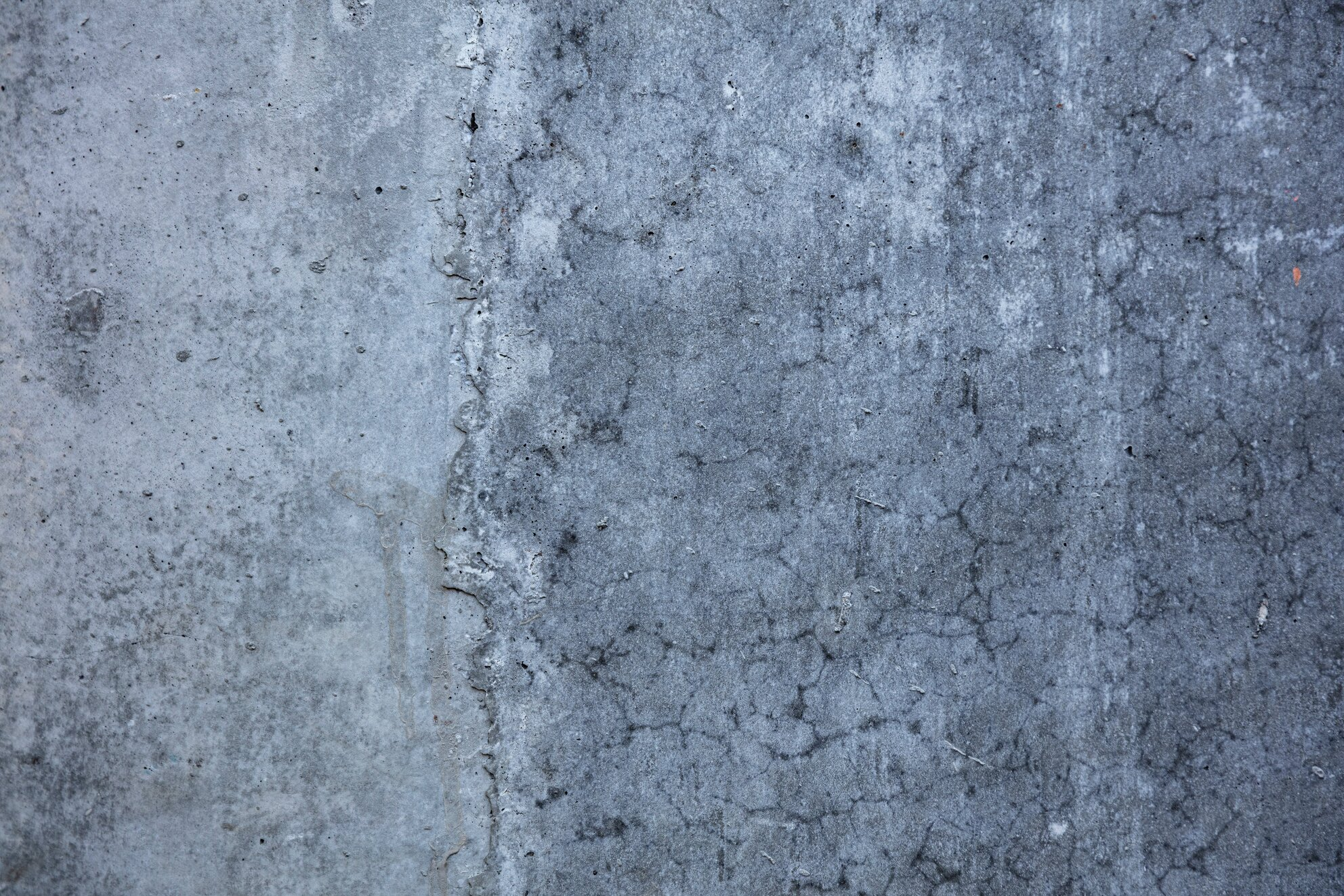 cracking ground concrete slab