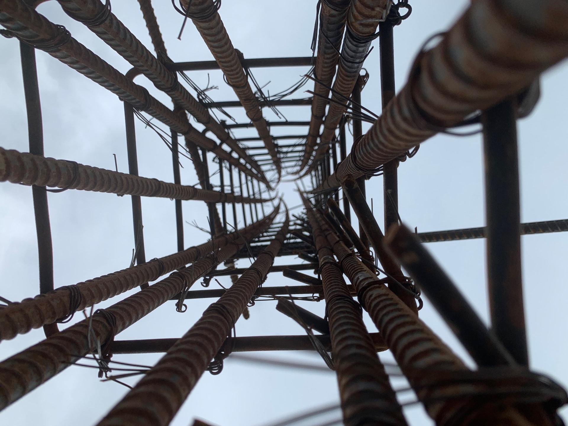 column of steel